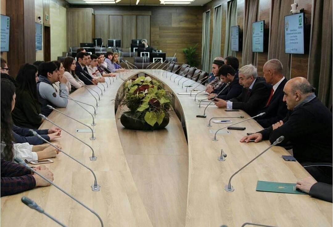 Встреча студентов – выходцев из Республики Дагестан с Представительством Республики Дагестан в СПб