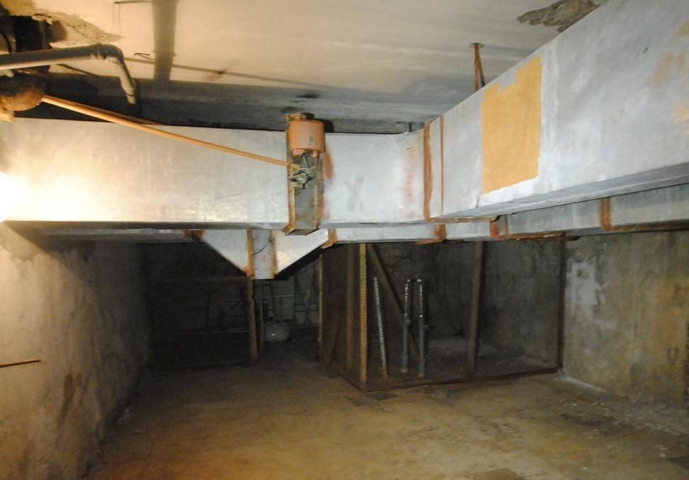 Техническое обследование конструкций подвала МБОУ «СОШ № 4»