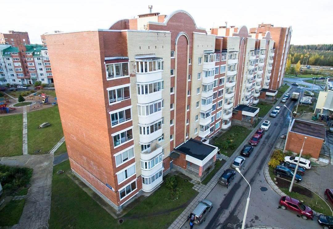 Техническое обследование фасадов и фундамента жилого здания