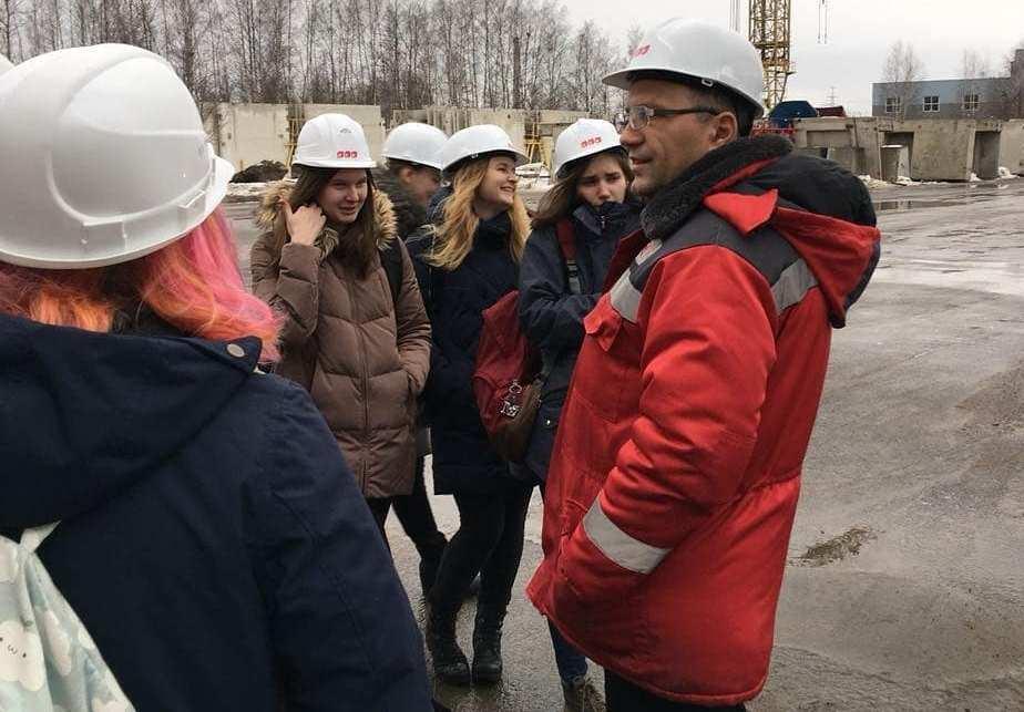 Экскурсия студентов на промышленное производство ООО