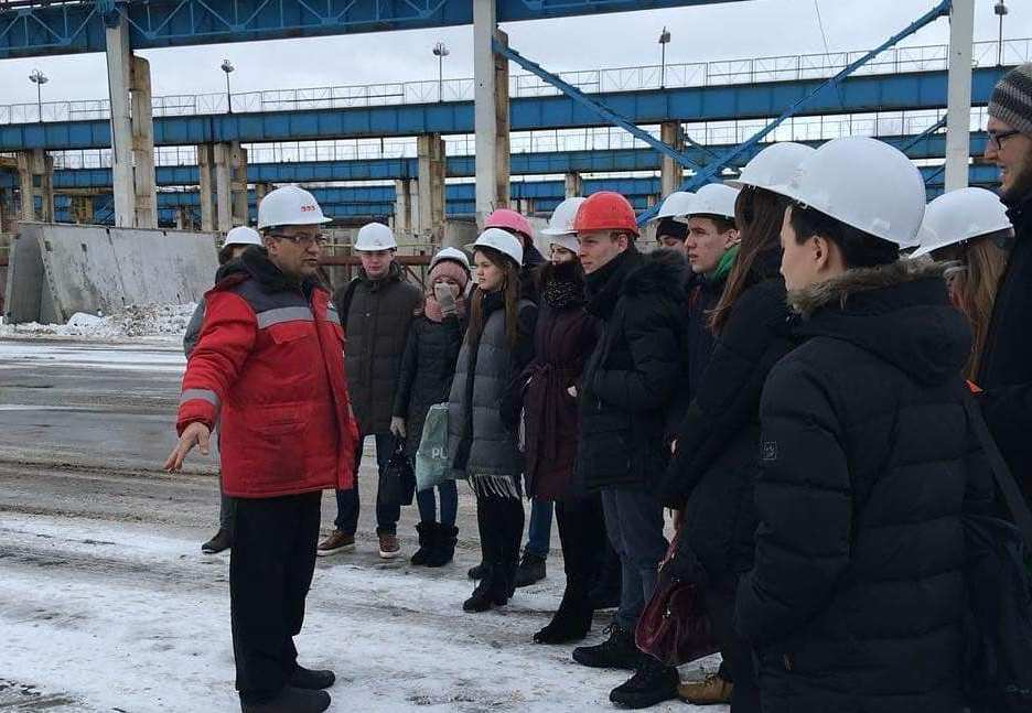 Экскурсии студентов на промышленное производство ООО