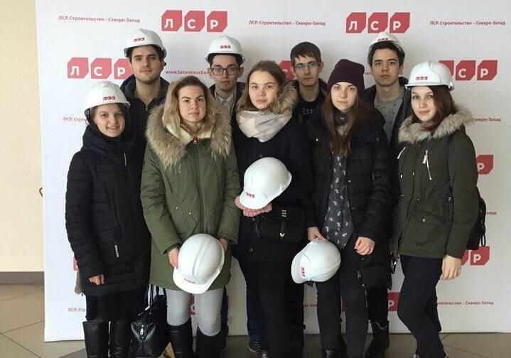Экскурсия студентов на производство ООО