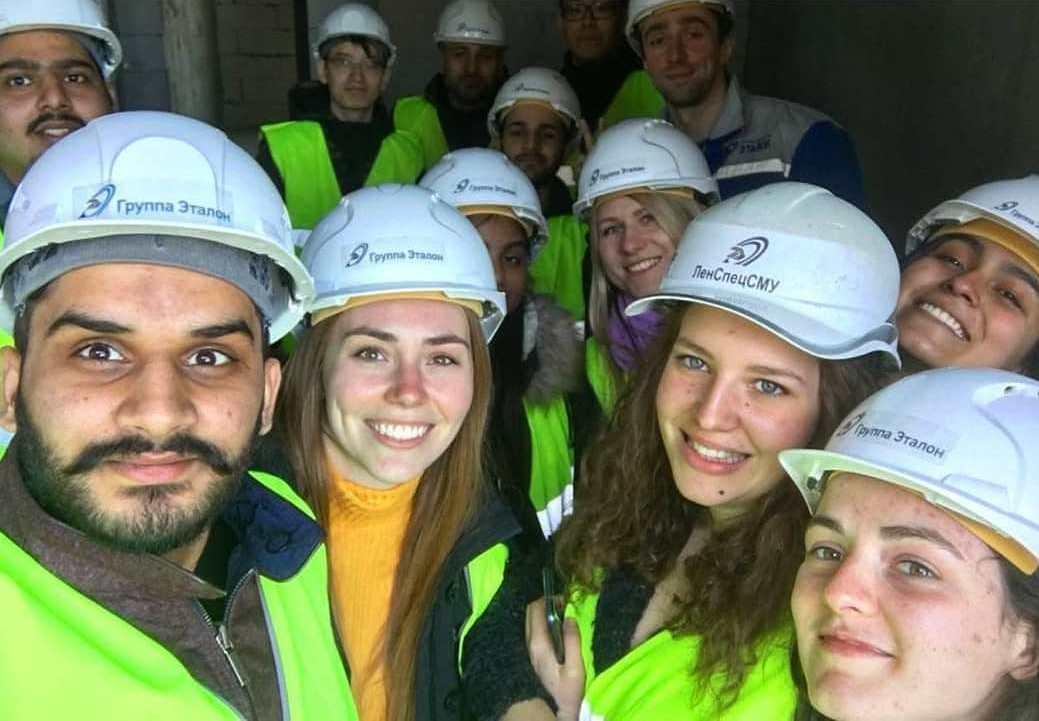 Экскурсия для иностранных студентов