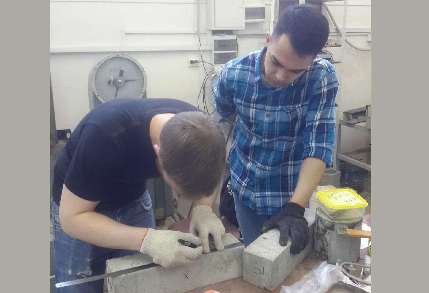 Методы усиления бетонных призм углеродным волокном