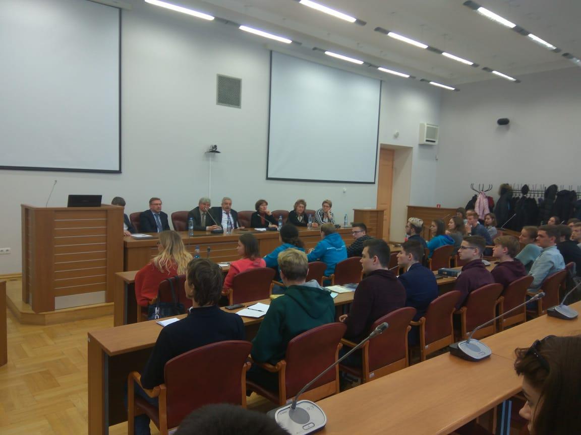 Встреча Дирекции ИСИ со студентами