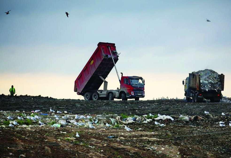 Протест по поводу мусоросжигательного завода