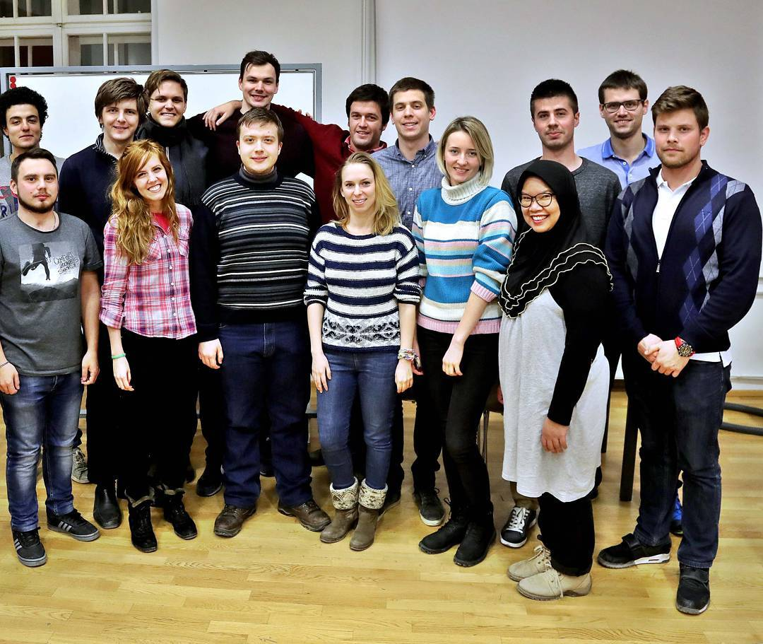 Участие ИСИ в программе студенческого обмена.