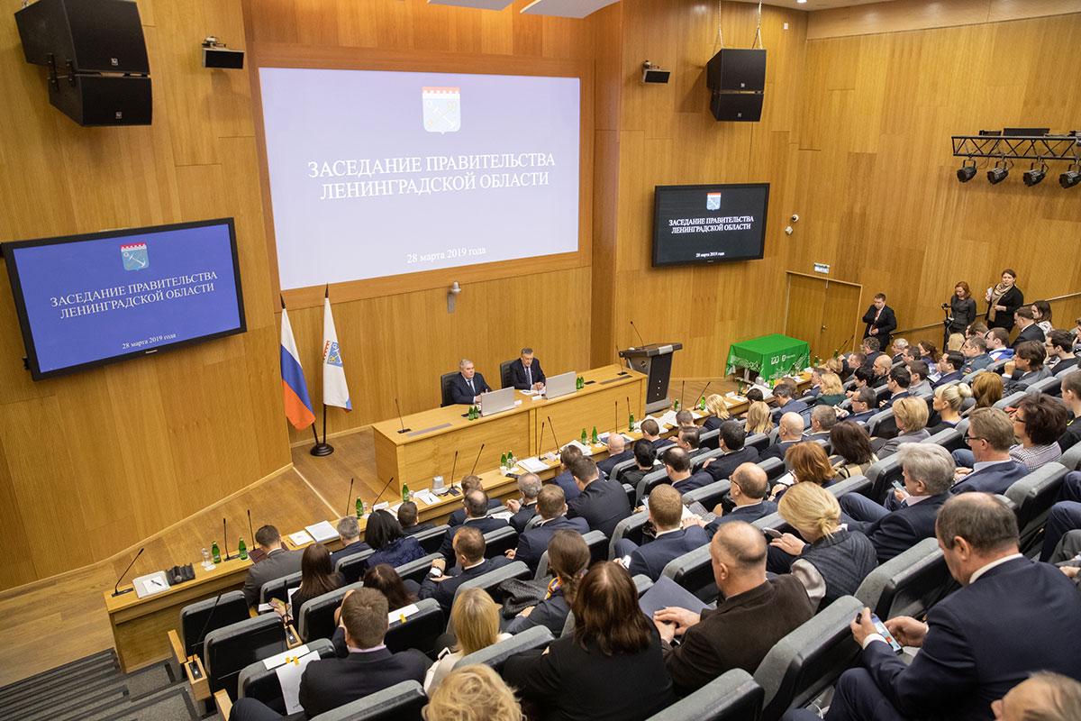 В Политехе прошло выездное заседание правительства Ленобласти