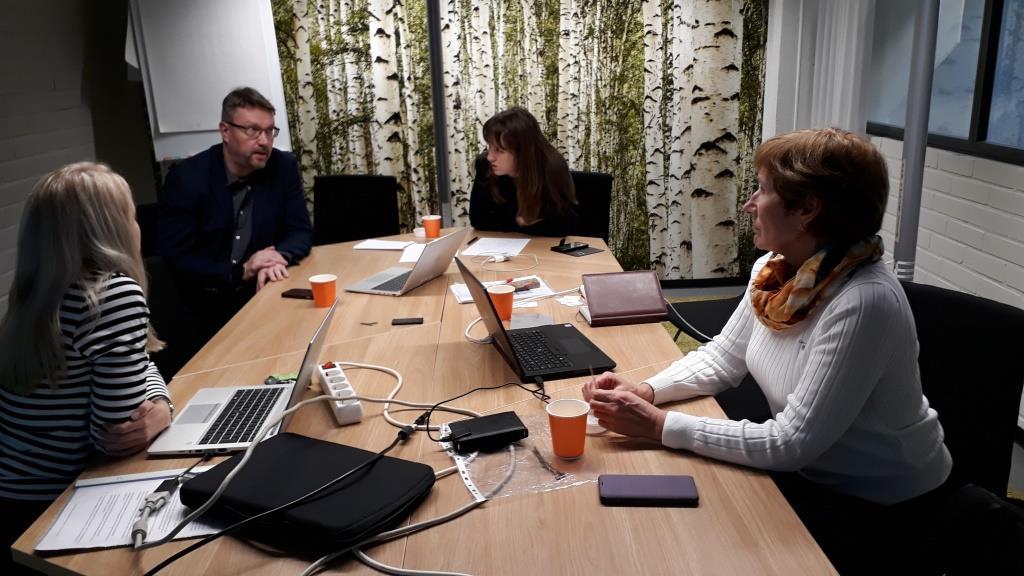 Обсуждение международного проекта в LUT University